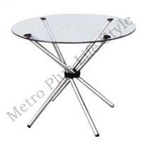 Glass Cafe Table