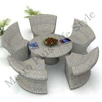 Rattan Hotel Table