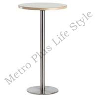 Steel Restaurant Table